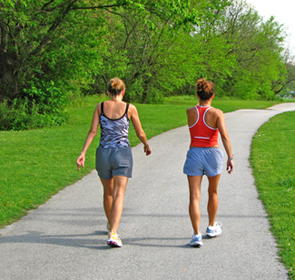 New research shows women need 420 minutes of moderate exercise every week.
